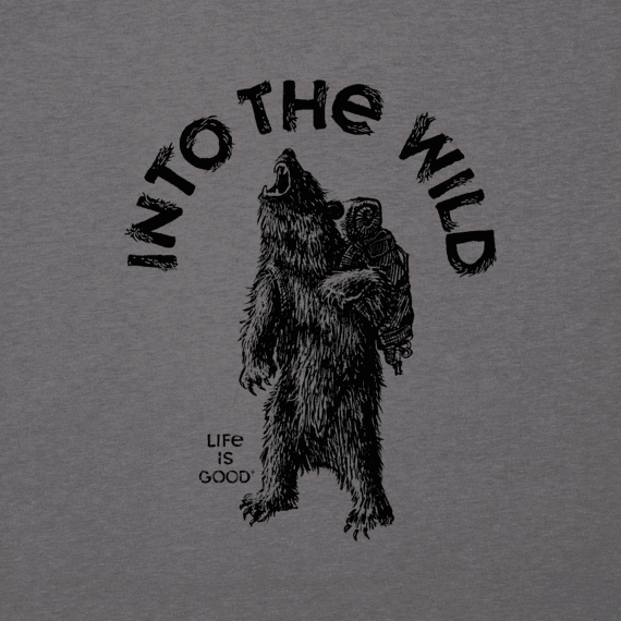 Men's Into the Wild Bear Cool Tee