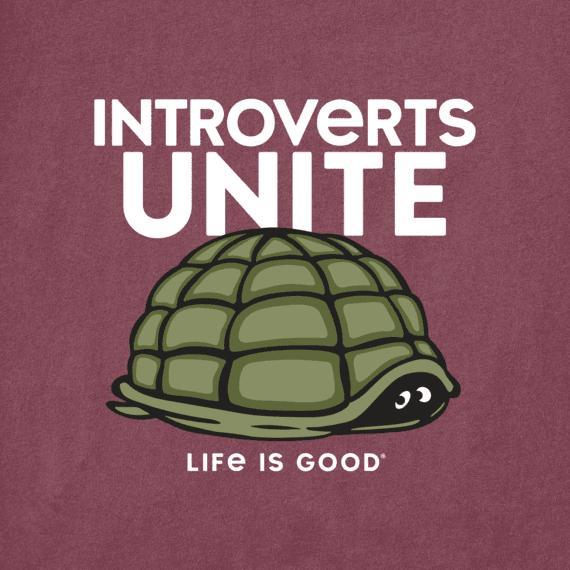 Men's Introverts Unite Crusher Tee
