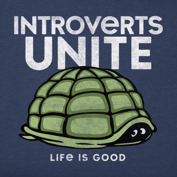 Men's Introverts Unite Turtle Crusher Tee