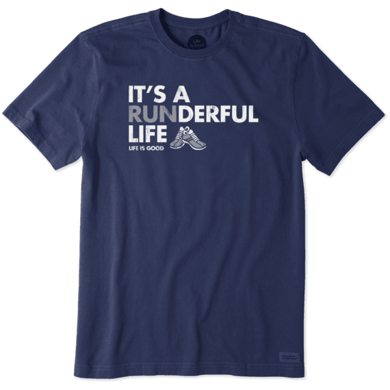 Men's Its A Runderful Life Crusher Tee