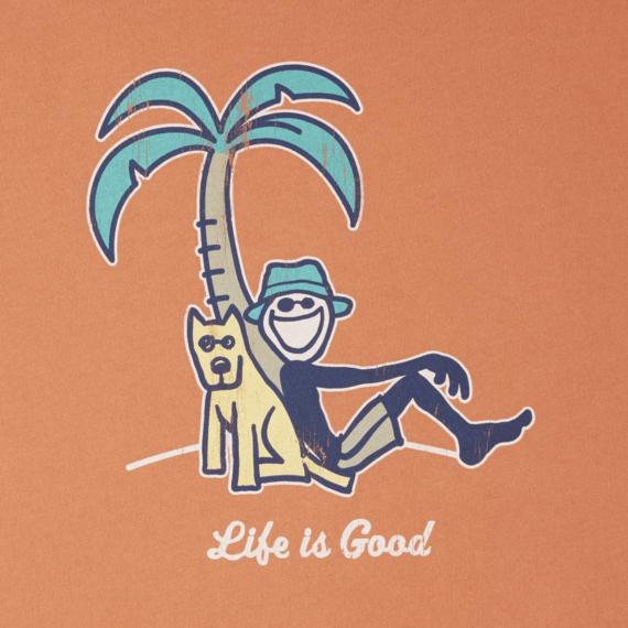 Men's Jake & Rocket Palm Tree Smooth Tee