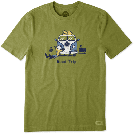 Men's Jake & Rocket Roadtrip Crusher Tee