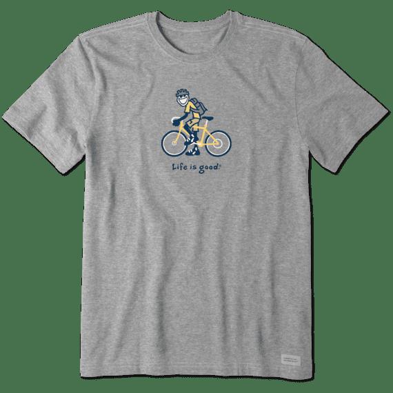 Men's Jake Biking Vintage Crusher Tee