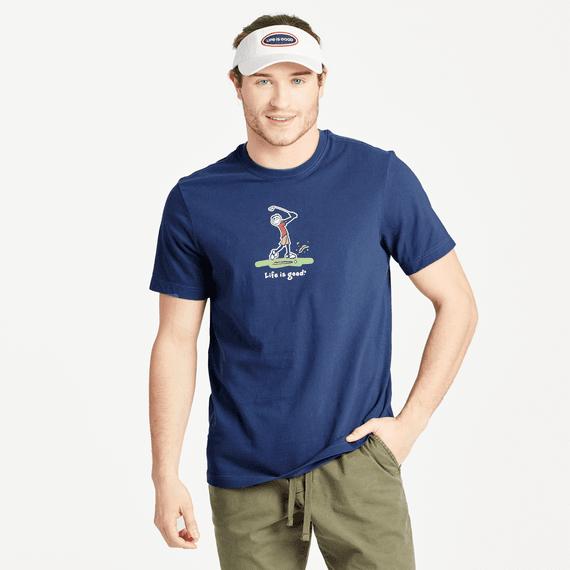 Men's Jake Golf Vintage Crusher Tee