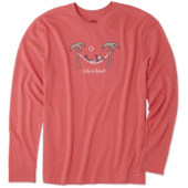 Men's Jake Hammock Chill Long Sleeve Crusher Tee