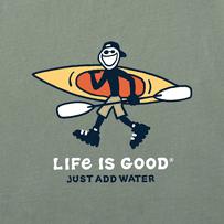 Men's Jake Just Add Water Kayak Crusher Tee