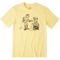 Men's Jake Rocket Acoustic Cool Tee