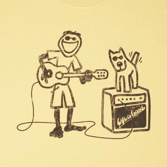 Men's Jake Rocket Acoustic Cool Tee