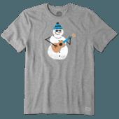 Men's Jammin' Snowman Crusher Tee