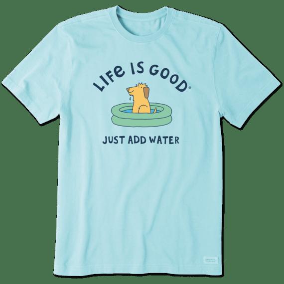 Men's Just Add Water Dog Crusher Tee