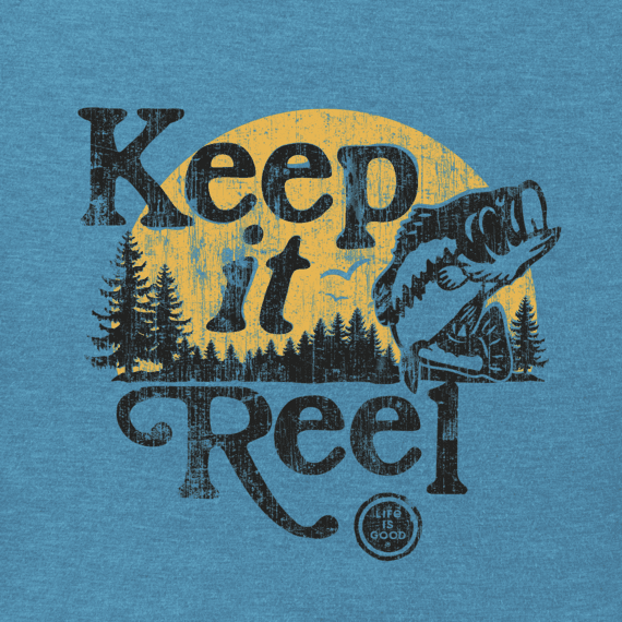 Men's Keep It Reel Crusher Tee