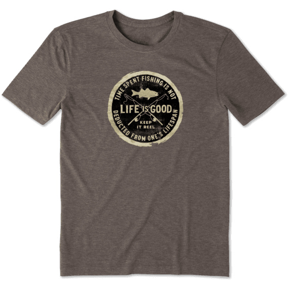 Men's Keep It Reel Stamp Cool Tee