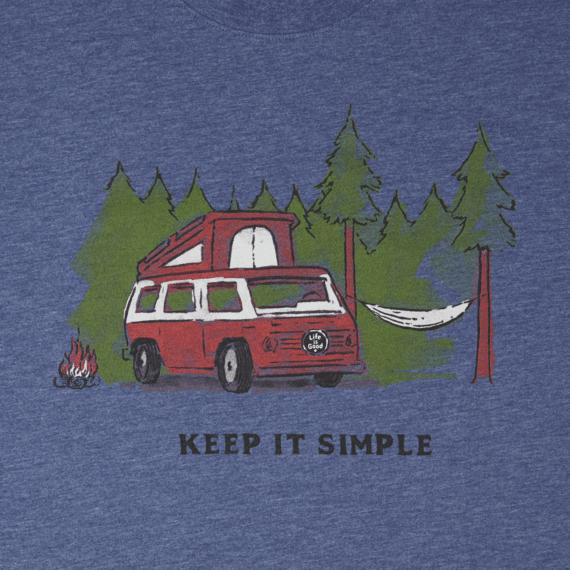 Men's Keep It Simple Camper Cool Tee