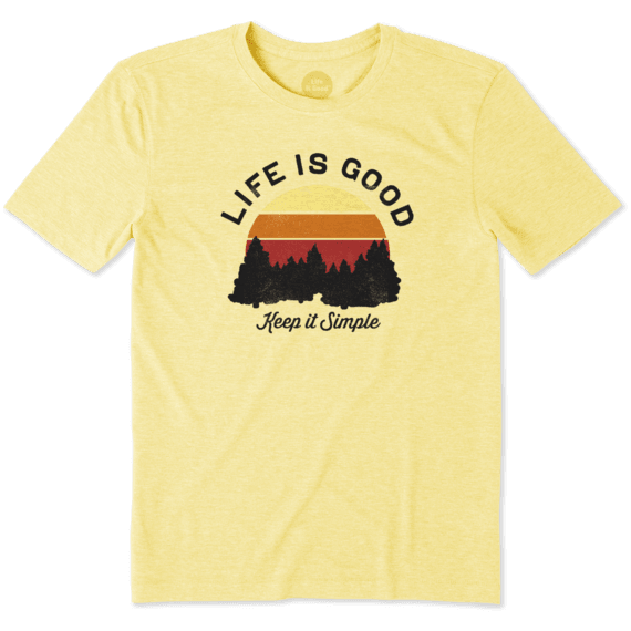 Men's Keep It Simple Landscape Cool Tee