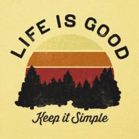 Men's Keep It Simple Landscape Cool Tee