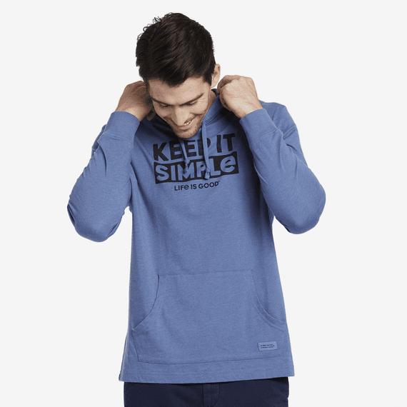 Men's Keep It Simple Long Sleeve Hooded Crusher