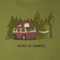 Men's Keep it Simple Camper Crusher Tee