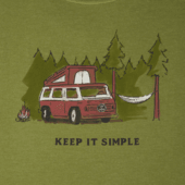 Men's Keep it Simple Camper Crusher Tee
