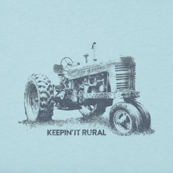 Men's Keepin' It Rural Long Sleeve Crusher Tee