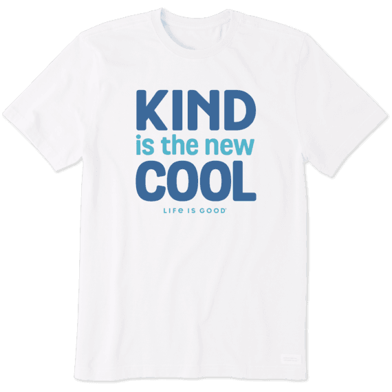 Men's Kind is the New Cool Crusher Tee