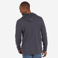 Men's LIG Athletic Hooded Long Sleeve Crusher Tee