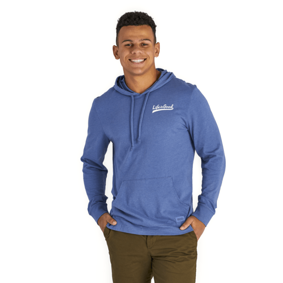Men's LIG Ballyard Script Long Sleeve Hooded Crusher