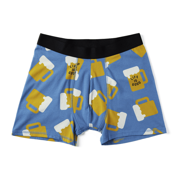 Men's LIG Beer Boxer Brief Set