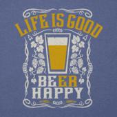 Men's LIG Beer Happy Cool Tee
