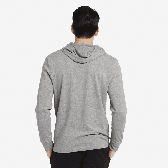 Men's LIG Coin Long Sleeve Hooded Crusher