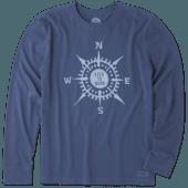 Men's LIG Compass Long Sleeve Crusher Tee