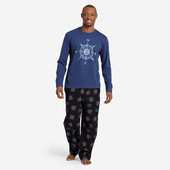 Men's LIG Compass Toss Classic Sleep Pant