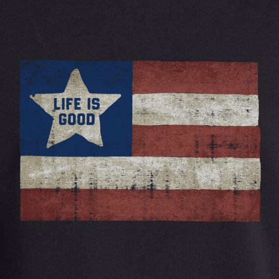 Men's LIG Flag Simply True Hoodie