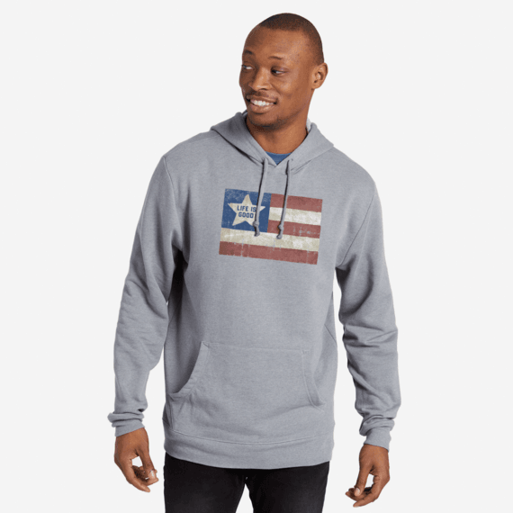 Men's LIG Flag Simply True Hoodie