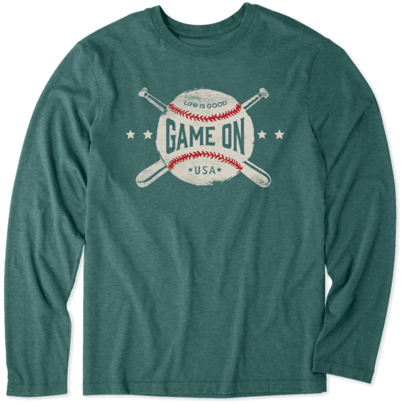 Men's LIG Game On Long Sleeve Cool Tee