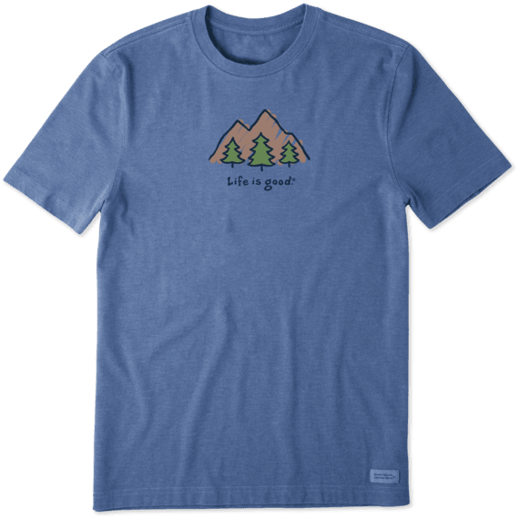 Men's LIG Mountains Vintage Crusher Tee