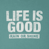 Men's LIG Rain Or Shine Long Sleeve Smooth Tee