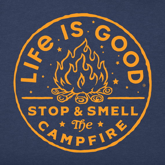 Men's LIG Smell the Campfire Crusher Tee