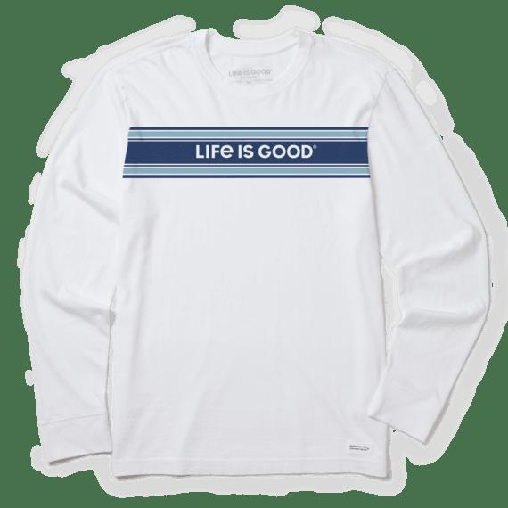 Men's LIG Stripe Long Sleeve Crusher Tee