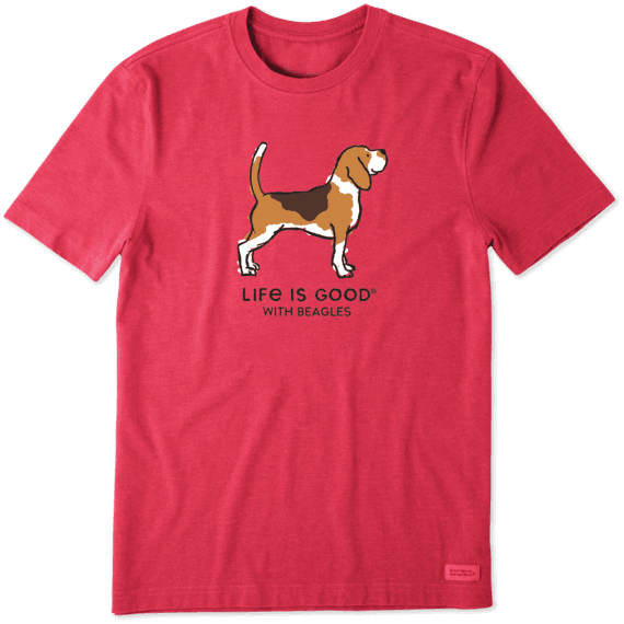 Men's LIG With Beagles Crusher Tee