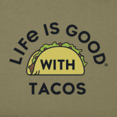 Men's LIG With Tacos Crusher Tee
