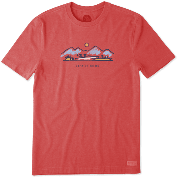 Men's Lake Boats Crusher Tee