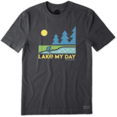Men's Lake My Day Crusher Tee