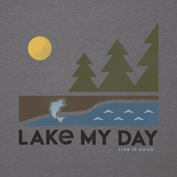 Men's Lake My Day Cool Tee