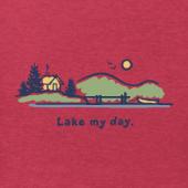 Men's Lake My Day Vintage Crusher Tee