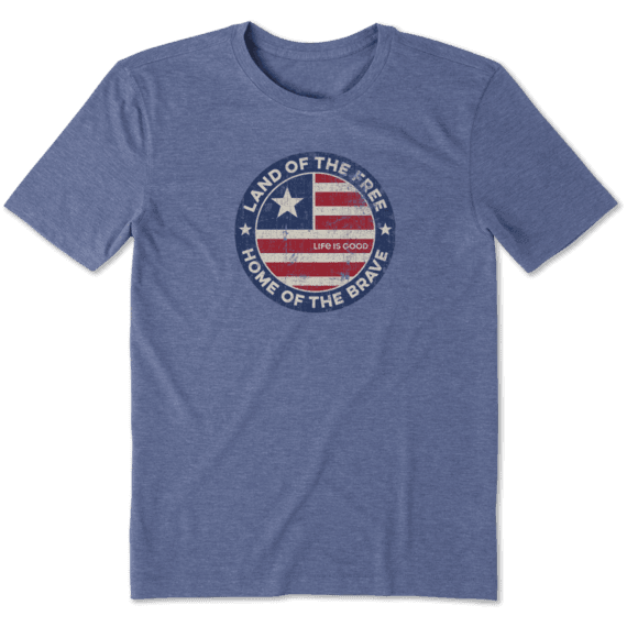 Men's Land Of The Free Coin Cool Tee