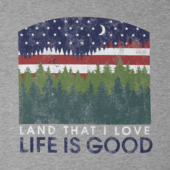Men's Land that I love Crusher Tee