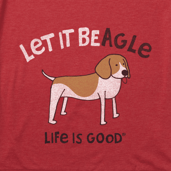 Men's Let It Beagle Cool Tee