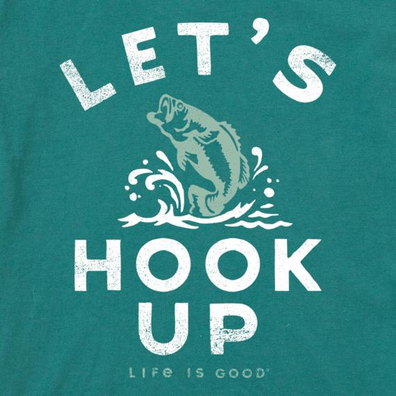 Men's Let's Hook Up Cool Tee