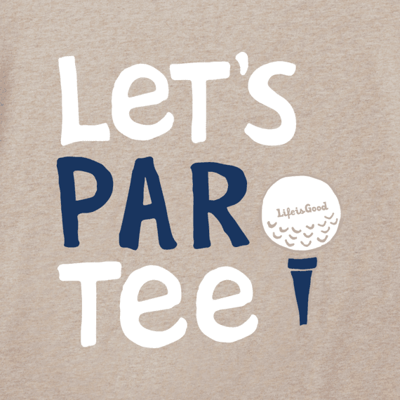Men's Let's Par Tee Crusher Tee