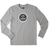 Men's LIG Coin Long Sleeve Crusher Tee